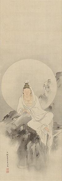 西山芳樹「白衣観音図」