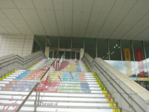 名古屋ボストン美術館外階段