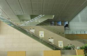 名古屋ボストン美術館エスカレーター
