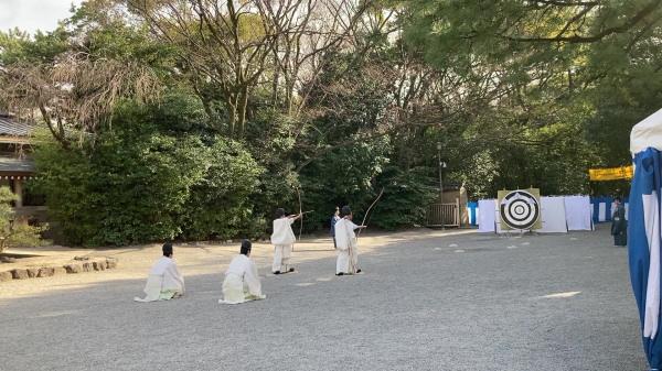 熱田神宮 歩射神事写真